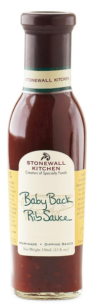 Stonewall Kitchen: Baby Back Rib Sauce, 11 Fo