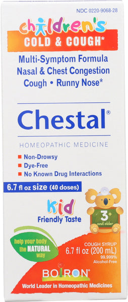 Boiron: Childrens Chestal Cold & Cough, 6.7 Fo