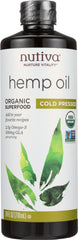 Nutiva: Oil Organic Hemp, 24 Oz