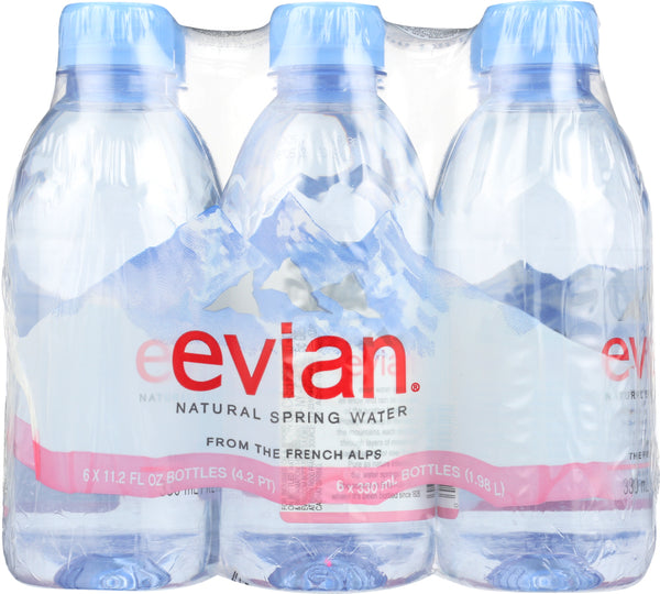 Evian: Spring Water 6 Pack, 1.98 Lt