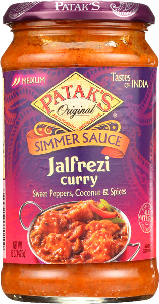 Pataks: Cooking Sauce Jalfrezi, 15 Oz