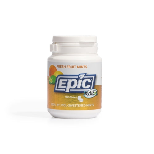 Epic Dental: Fresh Fruit Xylitol Mints, 180 Pc