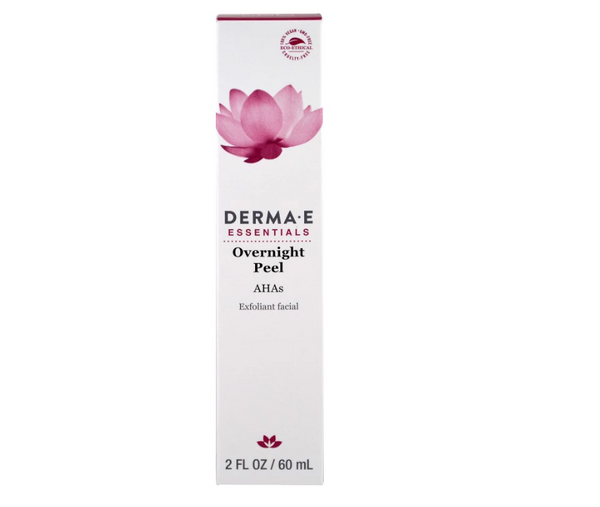 Derma E: Overnight Peel Fragrance Free, 2 Oz