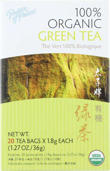 Prince Of Peace: Organic Green Tea, 20 Bg