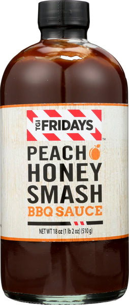 Tgi Fridays: Sauce Bbq Peach Honey Smash, 18 Oz
