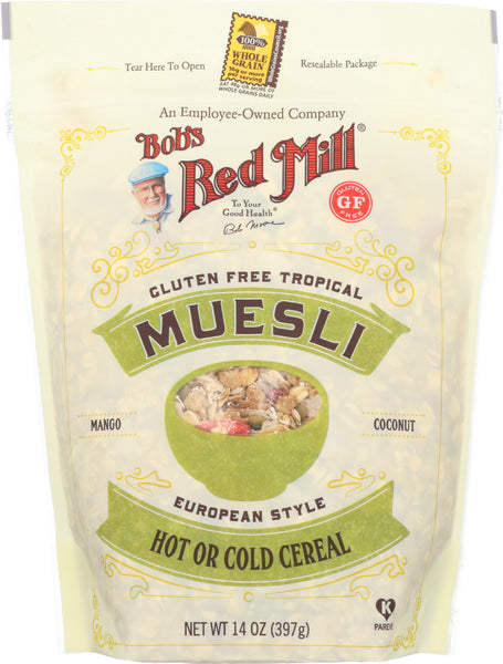 Bobs Red Mill: Gluten Free Tropical Muesli, 14 Oz