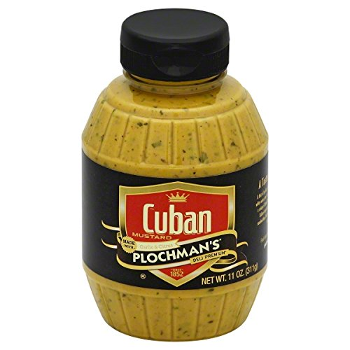 Plochmans: Mustard Cuban, 11 Oz