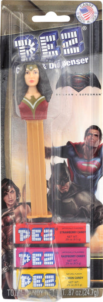 Pez: Dispenser Blister Justice League, 0.87 Oz