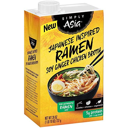 Simply Asia: Broth Japan Ramen Soy Ginger, 26 Oz