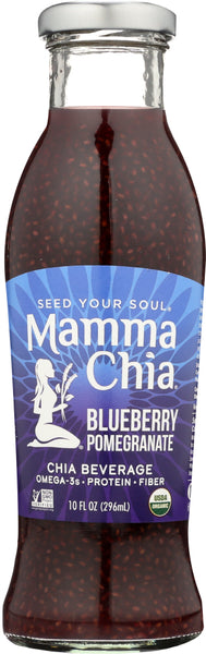 Mammachia: Organic Blueberry Pomegranate Beverage, 10 Oz