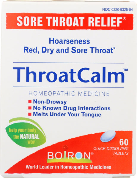 Boiron: Throat Calm, 60 Tb