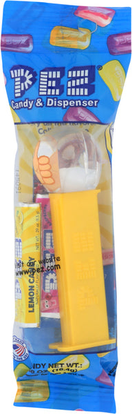 Pez: Pez Dispenser Emoji Plybg, .58 Oz