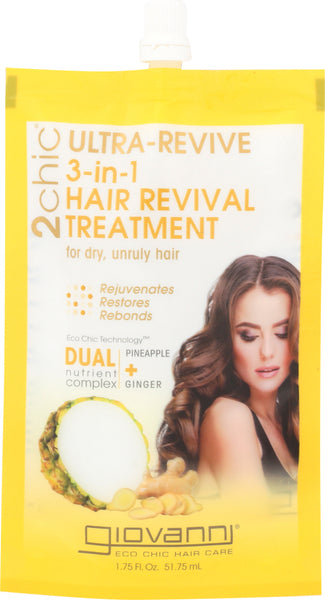 Giovanni Cosmetics: Oil Hair Treatment Pineapple Ginger, 1.75 Oz