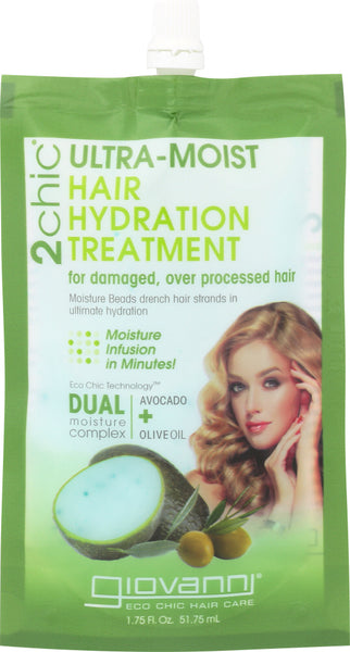 Giovanni Cosmetics: Oil Hair Treatment Avocado Olive Oil, 1.75 Oz
