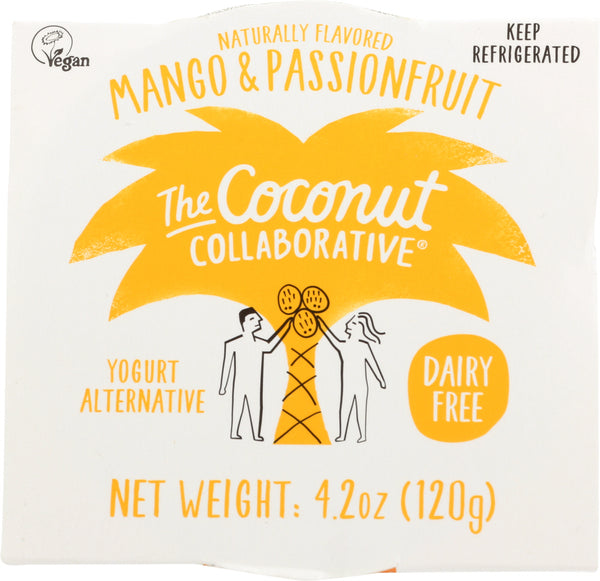 The Coconut Collaborative: Mango And Passionfruit Coconut Yogurt, 4.20 Oz