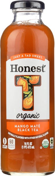 Honest Tea: Organic Mango Mate Black Tea, 16 Fo