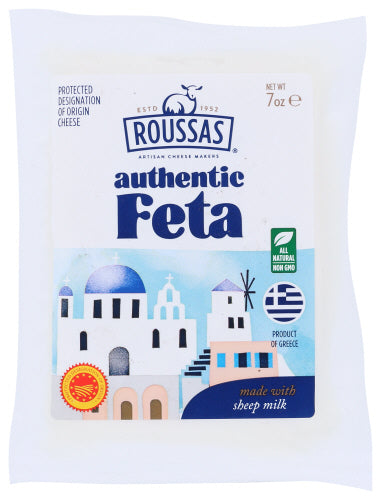 Roussas: Authentic Feta Pdo Cheese, 7 Oz