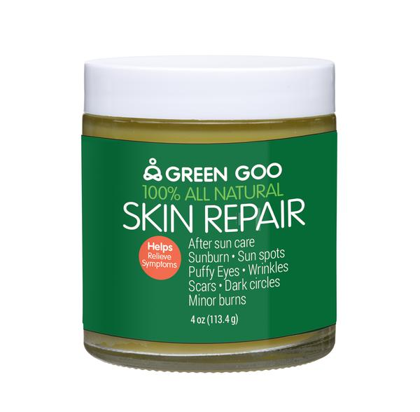 Green Goo: Salve Skin Repair Jar, 4 Oz