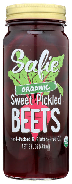 Safie: Beets Sweet Pickled Organic, 16 Oz