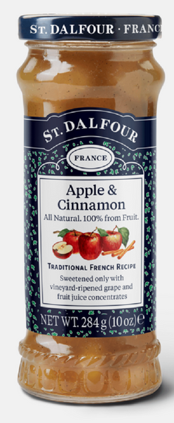 St. Dalfour: Apple And Cinnamon Fruit Spreads, 10 Oz