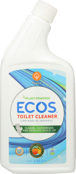 Earth Friendly: Toilet Cleaner Cedar, 24 Oz