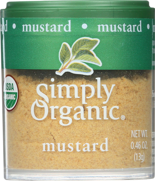 Simply Organic: Mini Mustard Seed Ground Organic, .46 Oz
