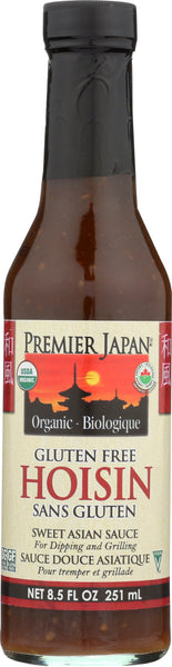 Premier Japan: Organic Hoisin Wheat Free Sauce, 8.5 Oz