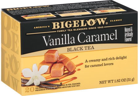 Bigelow: Vanilla Caramel Black Tea 20 Bags, 1.82 Oz