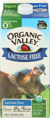 Organic Valley: Lactose-free Fat Free Ultra Pasteurized Milk, 64 Oz