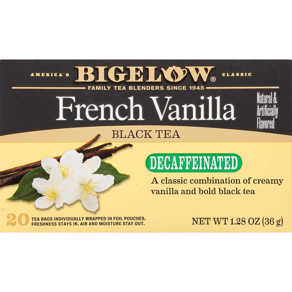 Bigelow: French Vanilla Decaf Tea 20 Bags, 1.28 Oz