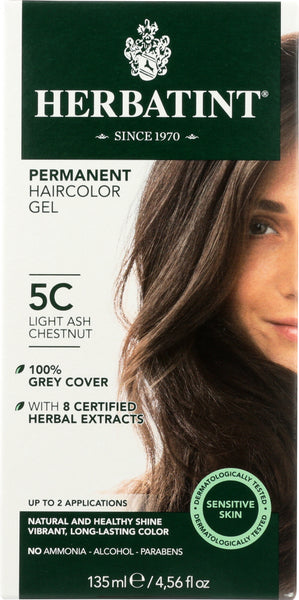 Herbatint: Hair Color 5c Ash Chestnut Lite, 4.56 Oz