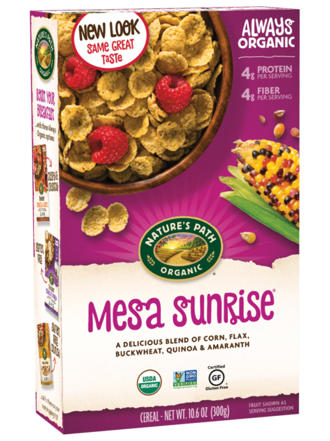 Natures Path: Mesa Sunrise Flakes Cereal Organic, 10.6 Oz
