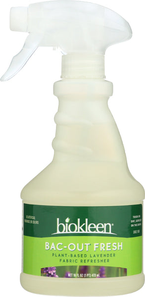 Bio Kleen: Bac Out Fabric Refresher Spray, 16 Oz