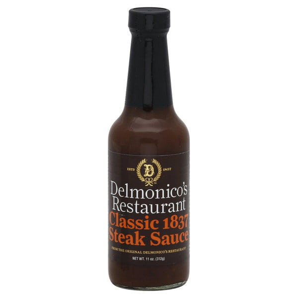 Delmonicos: Steak Sauce Classic 1837, 11 Oz