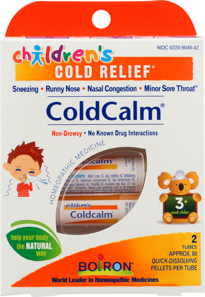 Boiron: Children Cold Calm Pellets, 1.5 Oz