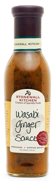 Stonewall Kitchen: Wasabi Ginger Sauce, 11 Oz