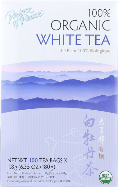 Prince Of Peace: Organic White Tea, 100 Bg