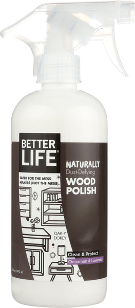 Better Life: Cleaner Wood Polish Oak-y Dokey, 16 Oz