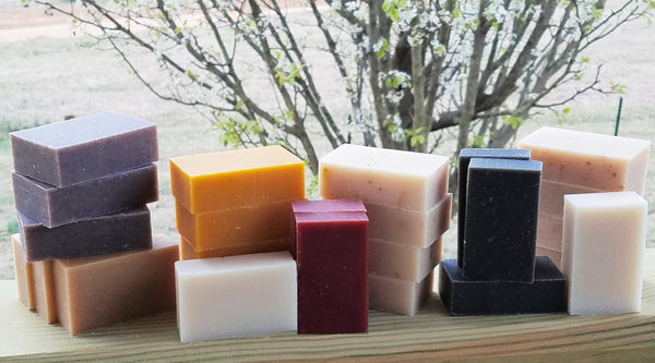 Black Tea Tree Handmade Soap - USDA Certified Organic