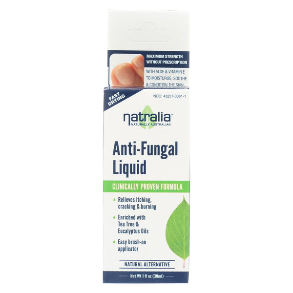 Natralia Anti-fungal Liquid - 1 Fl Oz