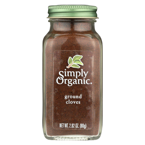 Simply Organic Cloves - Organic - Ground - 2.82 Oz