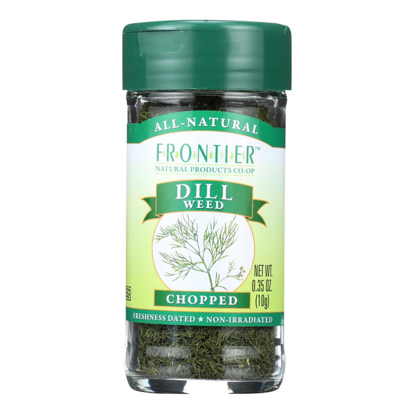 Frontier Herb Dill Weed - City And Sifted - .35 Oz
