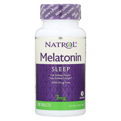 Natrol Melatonin - 3 Mg - 120 Tablets