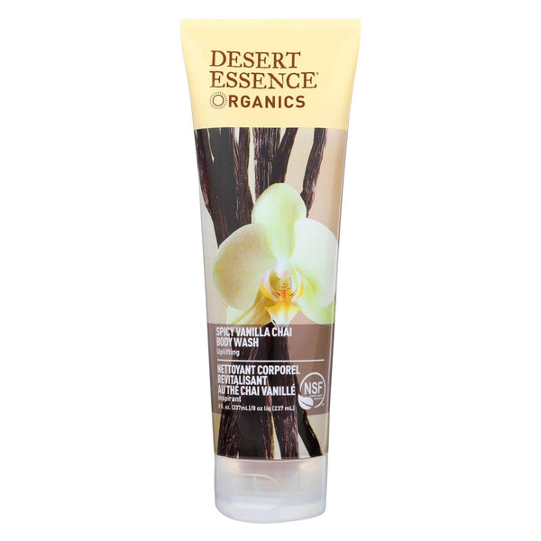 Desert Essence - Body Wash Vanilla Chai - 8 Fl Oz