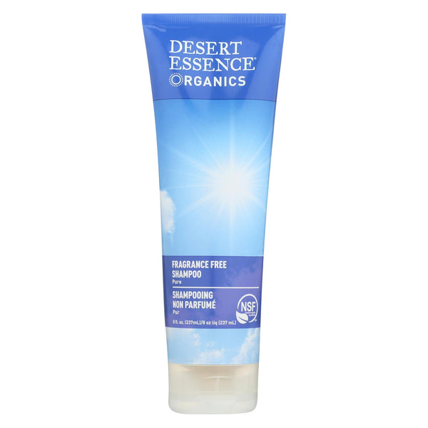 Desert Essence - Pure Shampoo Fragrance Free - 8 Fl Oz