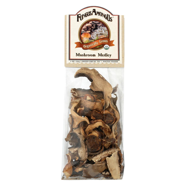 Fungus Among Us Organic Mushroom Medley - Medley - Case Of 8 - 1 Oz.