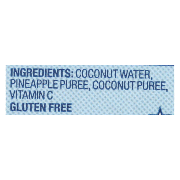 Vita Coco Coconut Water - Pineapple - Case Of 12 - 500 Ml