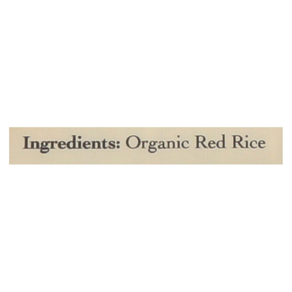 Lotus Foods Organic Madagascar Pink Rice - Case Of 6 - 15 Oz.