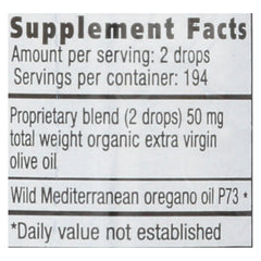 North American Herb And Spice Oreganol Oil Of Oregano - 0.45 Fl Oz