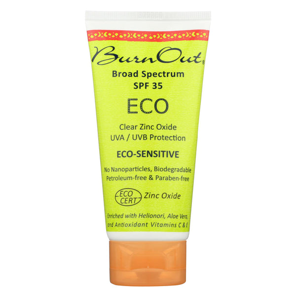 Burn Out - Sunscreen - Eco Sensitive - Spf 35 - 3 Oz